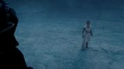 Rey confronts Sidious