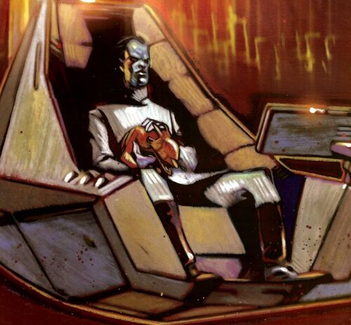 Thrawn in Command Center