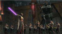Revan and his army-Yavin 4