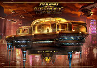 SWTOR Galactic Strongholds Keyart