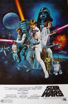 Star Wars Episode IV-A New Hope Theatrical Release Poster