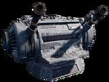 DBY-827 heavy turbolaser turret