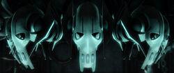 Grievous masks