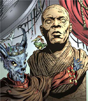 Mace Windu statue on Skor II