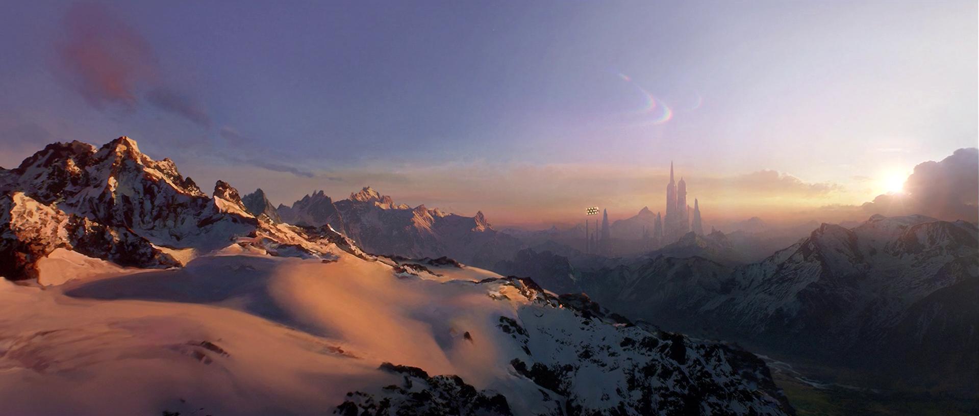 Image Alderaan Mountains Png Wookieepedia Fandom Powered By Wikia