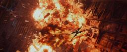 Poe blowing up Starkiller Base