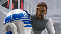 Bail Organa Droids in Distress