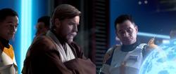 Cody en Obi-Wan
