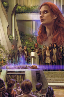 81fa7c668f10 Mara Jade Skywalker received a Jedi funeral.