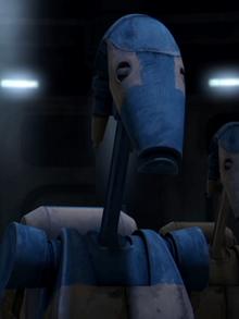 OOM-10 e un droide pilota