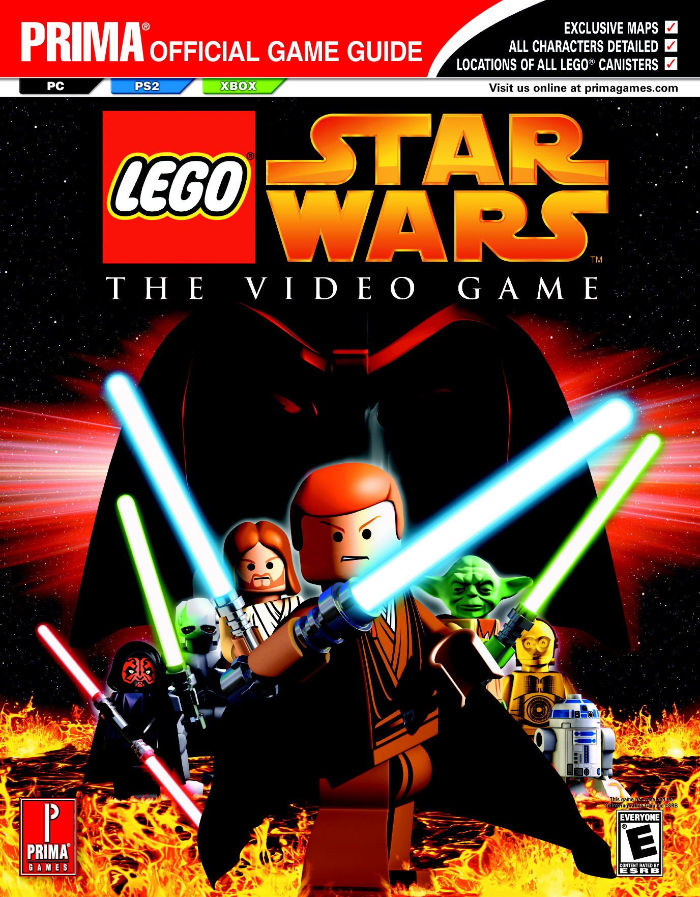 Lego Star Wars The Video Game Prima Official Game Guide