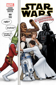 Star Wars Marvel 2015 Jaxxon Variant