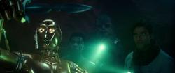C-3PO holding Ochi's dagger