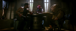 Finn with Sidon Ithano and Quiggold