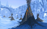Hoth mini volcanos