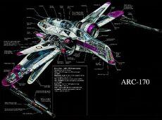 ARC-170 prurez