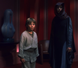 Anakin and Rabe