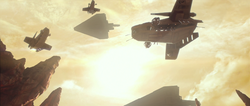 Laatis arrive on Geonosis