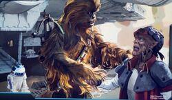 Chewbacca Hondo SWGE