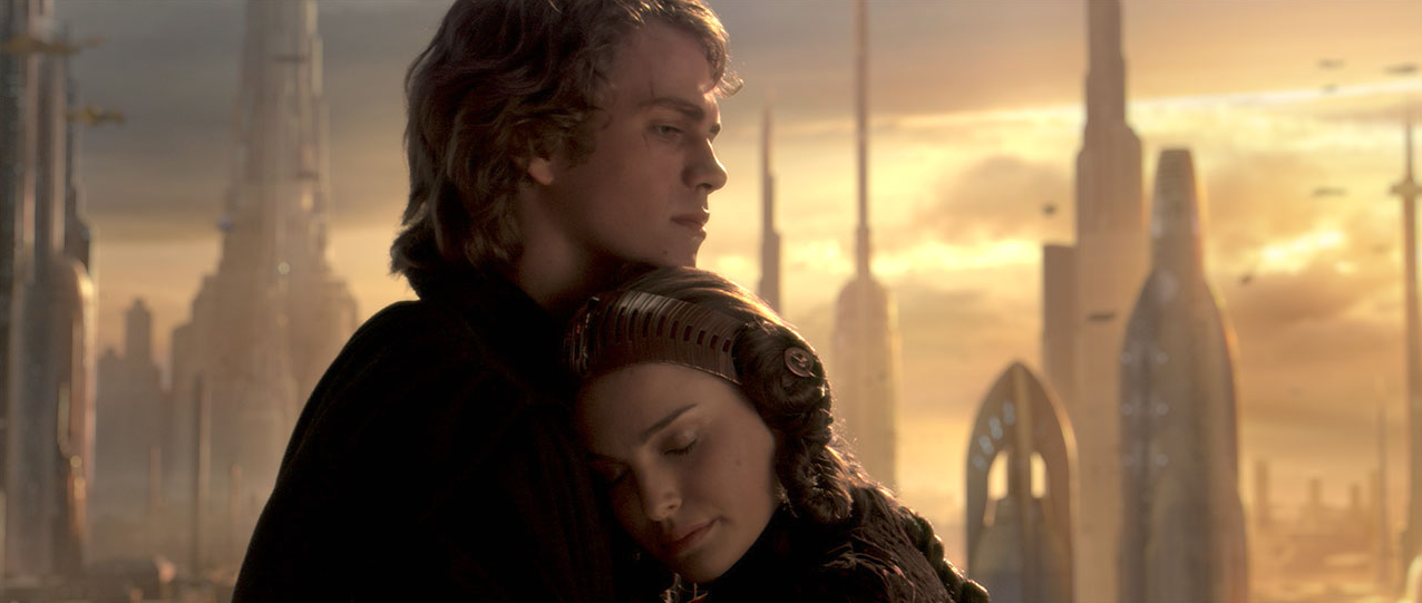 Image result for star wars 3 anakin padme