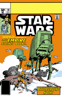 Star Wars 40 - The Empire Strikes Back - Battleground Hoth