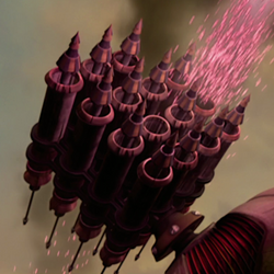 Hailfire homing missiles