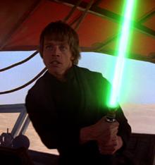 Luke on Jabba's ship