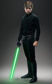 Luke Skywalker Battlefront promo