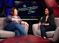 Candace Payne on The Star Wars Show