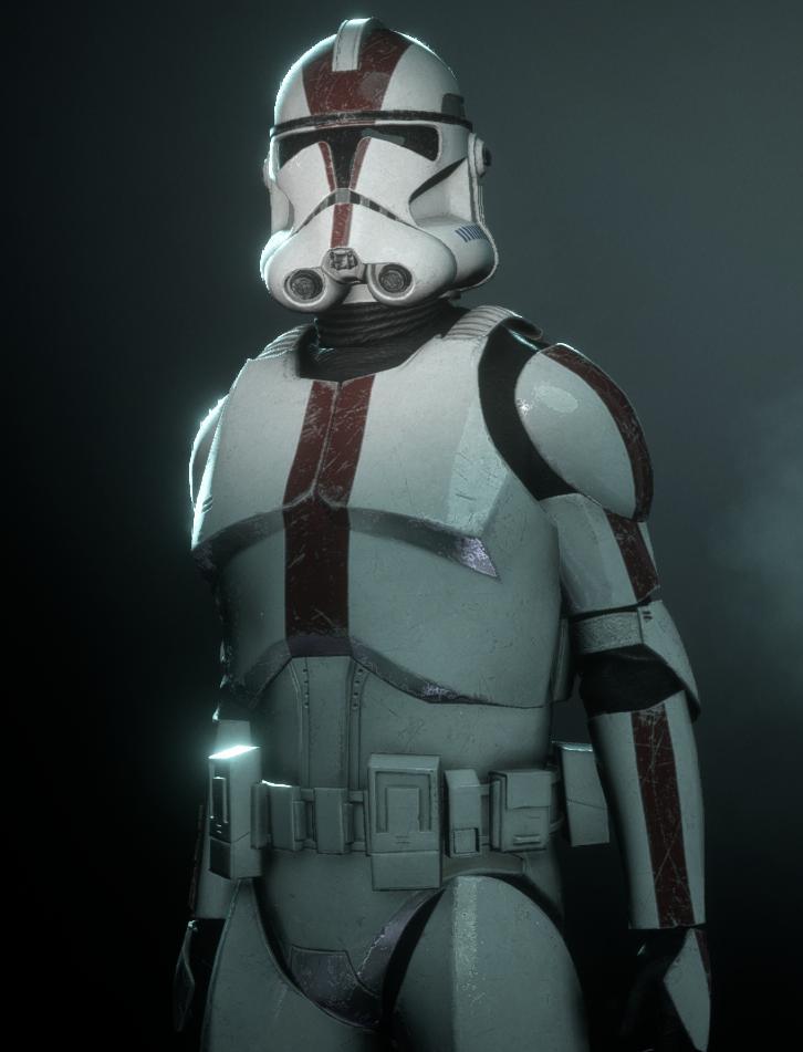 Star Wars Mace Windu/'s 187th Attack Battalion Clone Trooper Figure Complete Used