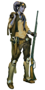 Savage Spirits FC character art