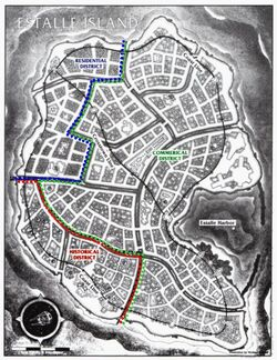 Estalle Island Map