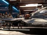 Obi-Wan Kenobi's blue Eta-2 Actis-class interceptor