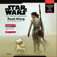 TheForceAwakensReadAlongStorybookAndCD-Hardcover
