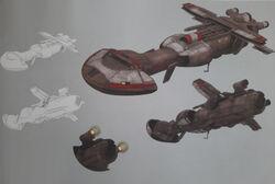 Art of Rebels Dornean Gunship