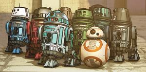 Astro droids