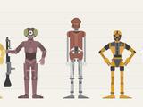 Third-degree droid