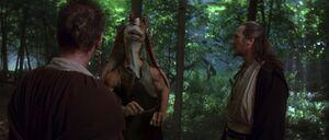 Jar Jar Obi Wan Qui-Gon