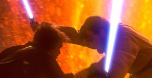 Anakin Obi-Wan Clash