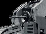 MegaCaliber Six turbolaser cannon