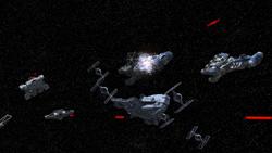 Rebel fleet arrives at Mustafar