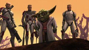 Yoda, Thire, Rys, Jek