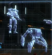 Extermination droids holo