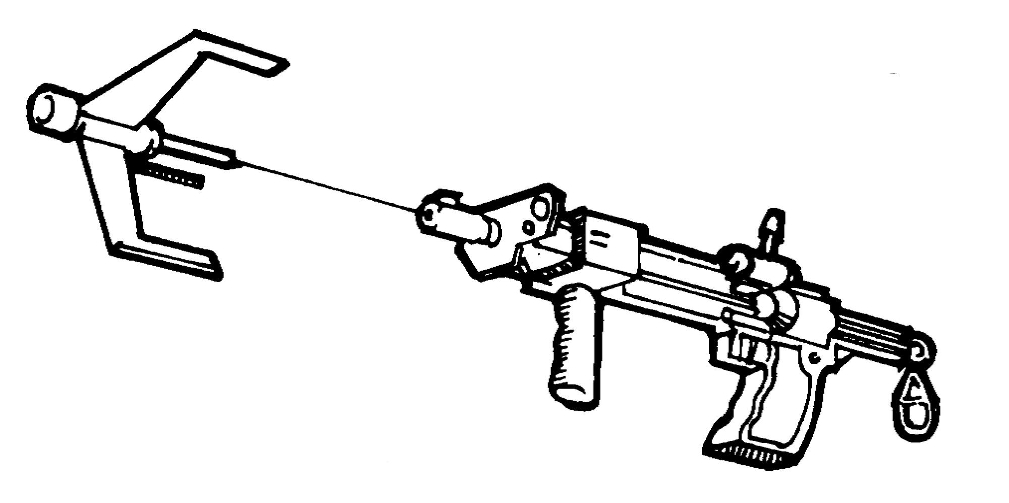 repulsor grappling gun