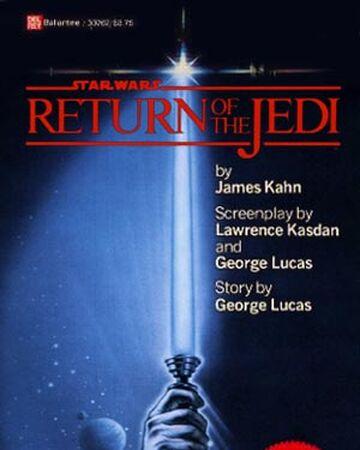 Star Wars Episode Vi Return Of The Jedi Novel Wookieepedia Fandom