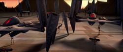 Hyena bomber prep on Ryloth