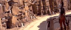 Inhabited Beggar's Canyon