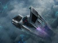 Onyx Squadron Pilot TIE Aggressor XWM