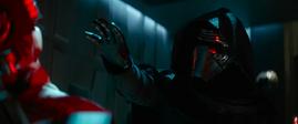 Kylo tortures Poe Dameron