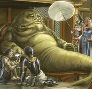 Sakiyan servant for a Hutt